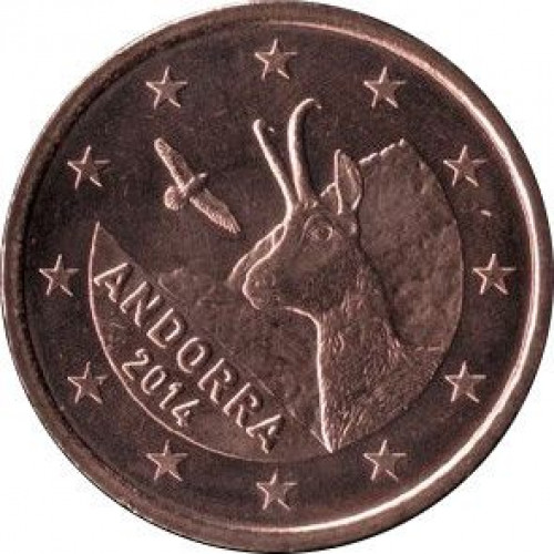 5 eurocents - Andorre