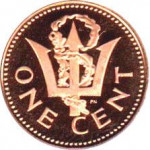 1 cent - Barbades