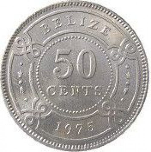 50 cents - Belize