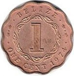 1 cent - Belize