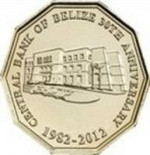 1 dollar - Belize