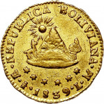 1/2 escudo - Bolivie