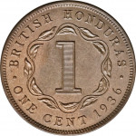1 cent - British Honduras