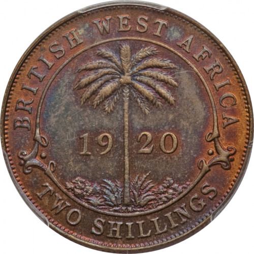2 shillings - Afrique Occidentale Britannique
