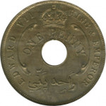 1 penny - British West Africa