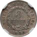 3 pence - British West Africa