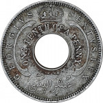 1/10 penny - British West Africa