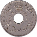 1/2 penny - British West Africa