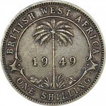 1 shilling - British West Africa