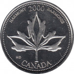 25 cents - Canada
