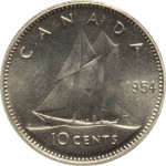 10 cents - Canada