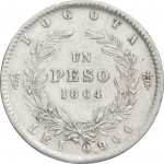 1 peso - Colombie