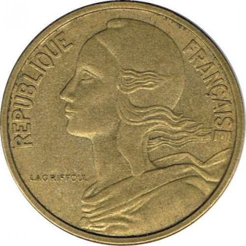 50 centimes - Contemporany France