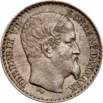 3 cents - Indes occidentales danoises