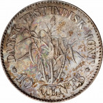 10 cents - Indes occidentales danoises