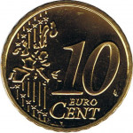 10 eurocents - Euro