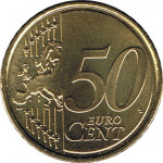 50 eurocents - Euro