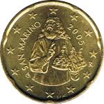 20 cents San Marin 2005