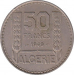 50 francs - French Colony
