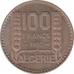 100 francs - French Colony