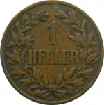 1 heller - German East Africa