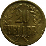 20 heller - German East Africa