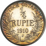 1/4 rupee - German East Africa