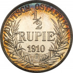 1/2 rupee - German East Africa
