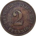 2 pfennig - Empire allemand