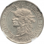 50 centimes - Guadeloupe