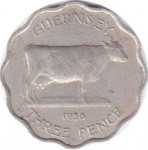 3 pence - Guernesey
