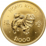 1000 dollars - Hong Kong