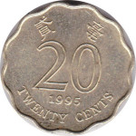 20 cents - Hong Kong