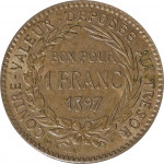 1 franc - Martinique