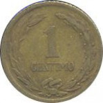 1 centimo - Paraguay