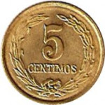 5 centimos - Paraguay