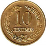 10 centimos - Paraguay