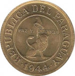 50 centimos - Paraguay