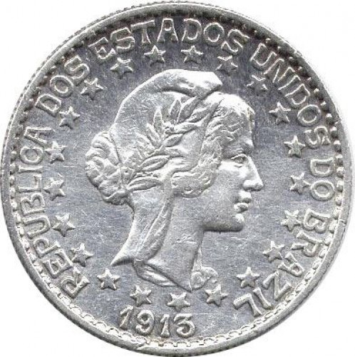 2000 reis - Republic of Brazil