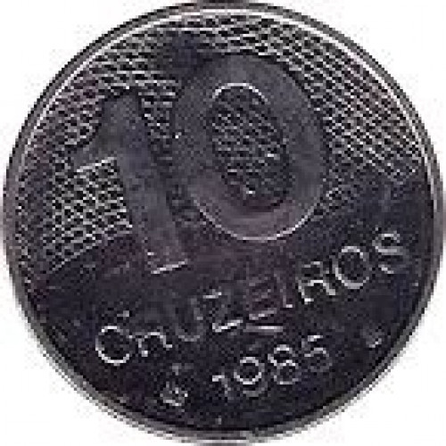 10 cruzeiros - Republic of Brazil