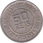 50 reis - Republic of Brazil