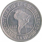 400 reis - Republic of Brazil