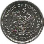 5 cents - Sierra Leone