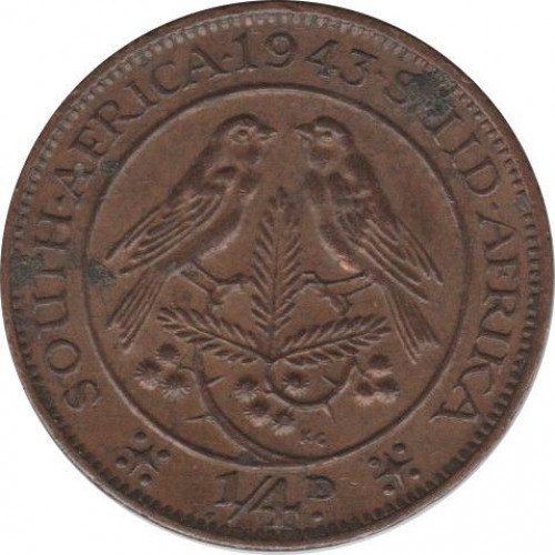 1/4 penny - South Africa