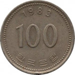 100 won - South Korea
