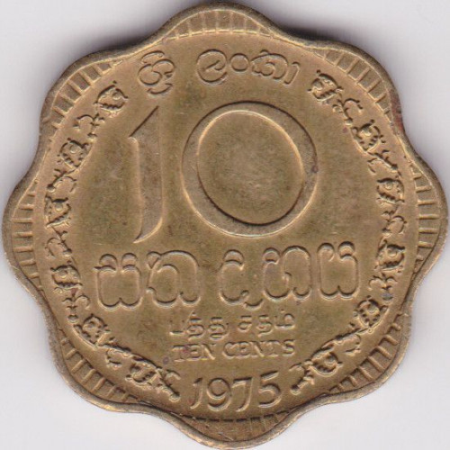 10 cents - Sri Lanka