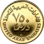 750 dirhams - Emirats Arabes Unis
